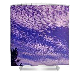 Purple Sky At Casapaz Shower Curtain by Jack Eadon