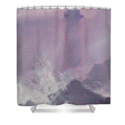 Purple Storm Shower Curtain