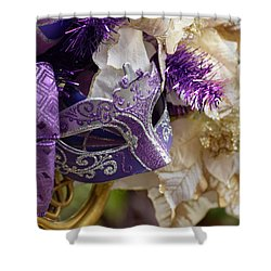 Purple Visions Shower Curtain