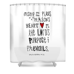 Purpose Shower Curtain