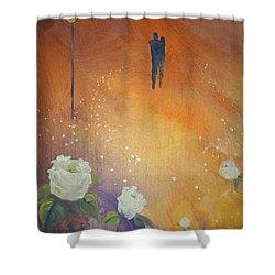 Purpose Shower Curtain by Raymond Doward