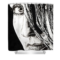 Purpose Shower Curtain by Richard Young