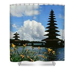 Puru Ulun Danau  Shower Curtain