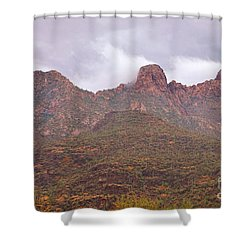 Pusch Ridge Tucson Arizona Shower Curtain