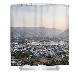 Shower Curtain featuring the photograph Pushkar by Yew Kwang
