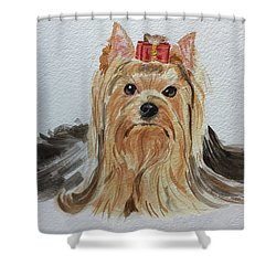 Put A Bow On It Shower Curtain
