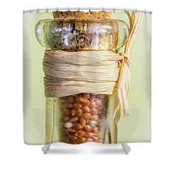 Put A Cork In It Shower Curtain by Skip Tribby