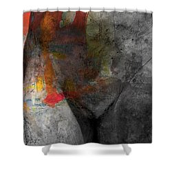 Put A Little Love In Your Heart Shower Curtain