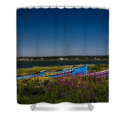 Put Out To Pature Shower Curtain