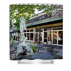 Putnam Antiques Shower Curtain by Susan Cole Kelly