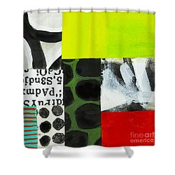 Puzzle 6 Shower Curtain