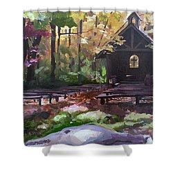 Pvm Outdoor Chapel Shower Curtain