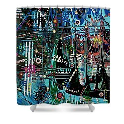 Pyeong Chang 2018 Shower Curtain
