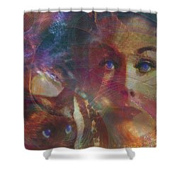 Pyewacket And Gillian Shower Curtain