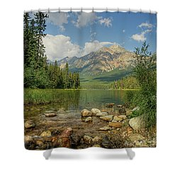 Pyramid Mountain Shower Curtain