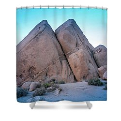 Pyramids At Live Oak Shower Curtain