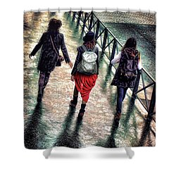 Quai Des Tuileries Shower Curtain