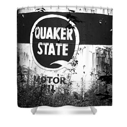 Quaker State Shower Curtain
