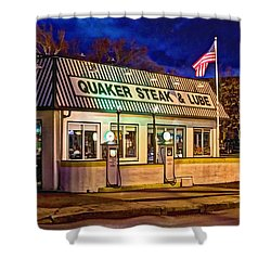 Quaker Steak And Lube Shower Curtain