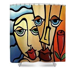 Quality Time Shower Curtain by Tom Fedro - Fidostudio
