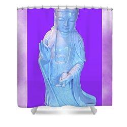 Quan Yin Love Shower Curtain