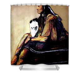 Quanah Parker The Last Comanche Chief II Shower Curtain