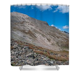 Shower Curtain featuring the photograph Quandary Peak by Cascade Colors