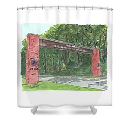 Quantico Welcome Shower Curtain
