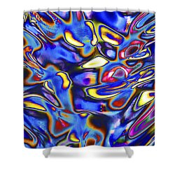 Quantum Entangled Soul... Shower Curtain