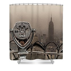 Shower Curtain featuring the photograph Quarters Only by Chris Lord