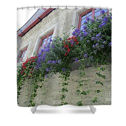 Quebec City 49 Shower Curtain