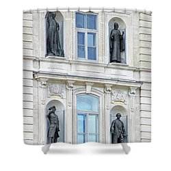 Quebec City 76 Shower Curtain