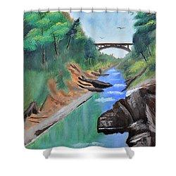 Quechee Gorge,vermont Shower Curtain