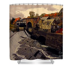 Quechee Vt Shower Curtain