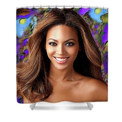 Queen Beyonce Shower Curtain