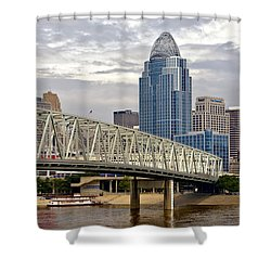 Queen City Shower Curtain