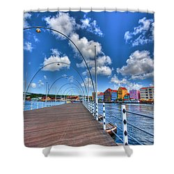 Queen Emma Bridge Shower Curtain