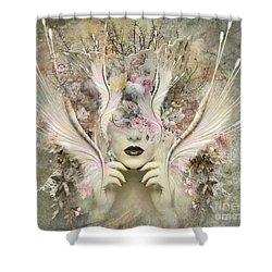Queen Flora Shower Curtain