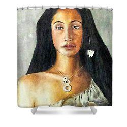 Queen Gassulawiya  Shower Curtain by G Cuffia