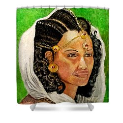 Queen Hephzibah  Shower Curtain by G Cuffia