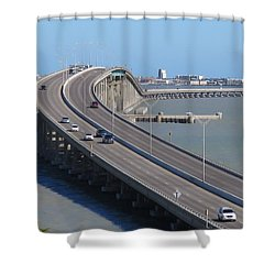 Queen Isabella Causeway Shower Curtain