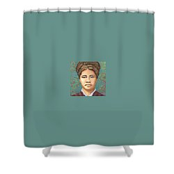 Queen Liliuokalani Shower Curtain