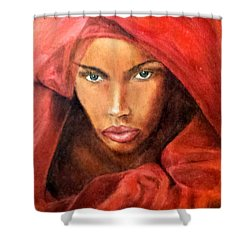 Queen No.10 Shower Curtain by G Cuffia