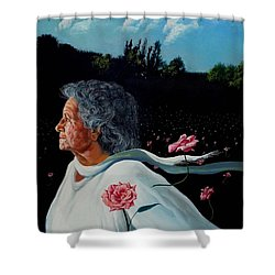 Queen Of Roses Shower Curtain