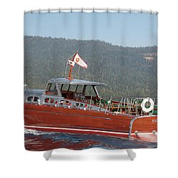Queen Of Tahoe Shower Curtain