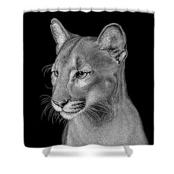 Queen Of The Everglades Shower Curtain