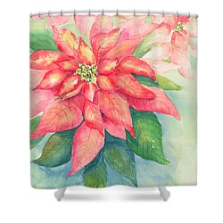 Queen Of The Show Shower Curtain by Sandy Fisher