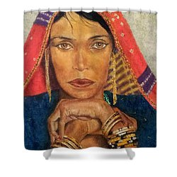 Queen Tahpenes  Shower Curtain by G Cuffia