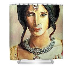 Queen Vashti Shower Curtain by G Cuffia