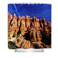 Shower Curtain featuring the photograph Queens Garden by Norman Hall